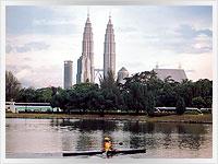 Petronas towers in Kuala Lumpar, Malaysia
