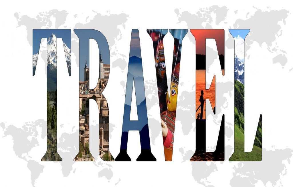 Image of the word travel
